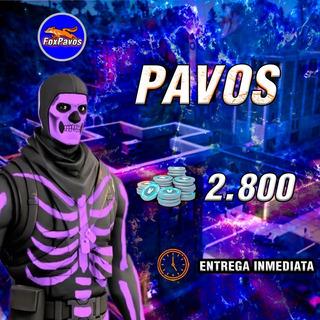 Fortnite Pavos 2800 Entrega Rapida
