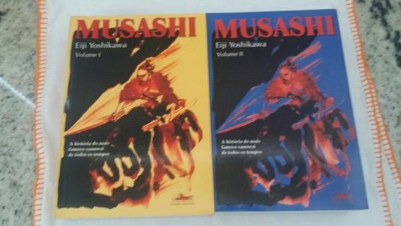 Musashi Volume 1 E 2 Myamoto Yoshikawa Japao Imperio Samurai