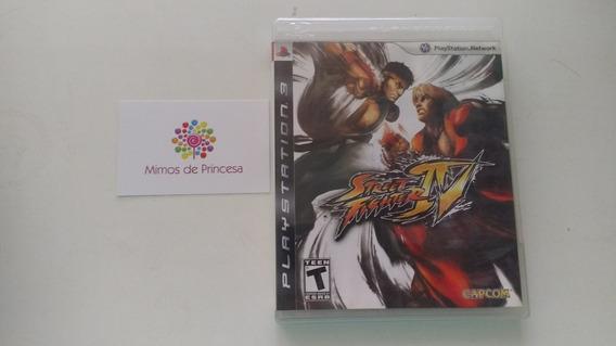 Street Fighter 4 Ps3 Playstation 3