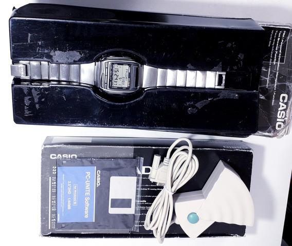 Relógio Casio Top Data Bank Hbx-100 Hot Biz - Na Embalagem