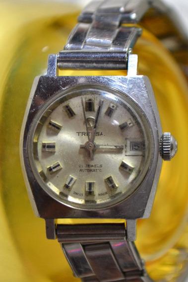 Relógio Feminino Tressa 21 Jewels Automatic 538