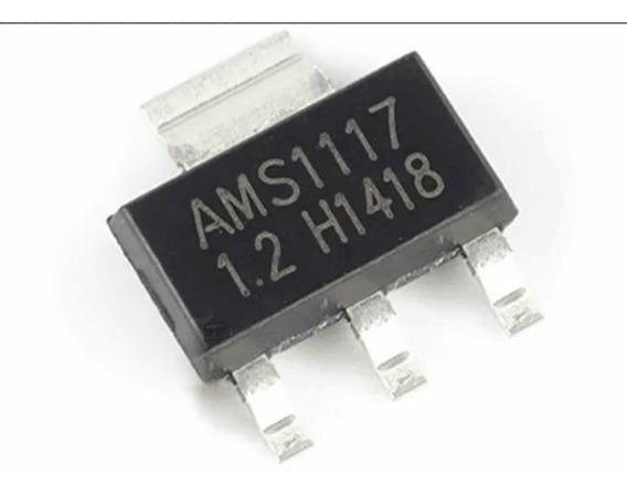 Ci Smd Regulador Tensao Ams1117 1v2 1.2v - Lote 10 Unidades