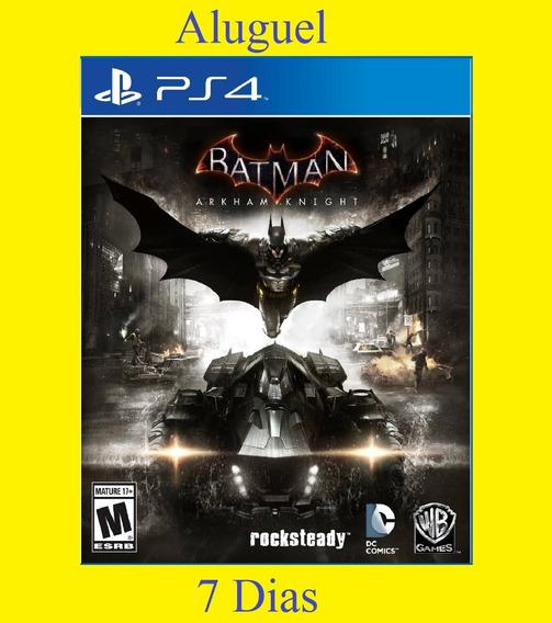Batman Arkham Knight - Ps4 - Aluguel 7 Dias