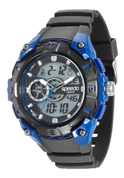 Relógio Speedo Esportivo Masculino 81076g0egnp2 C/ Garantia