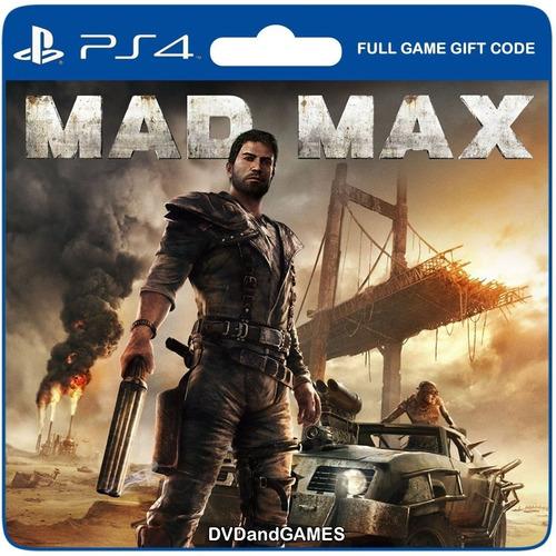 Mad Max Madmax Juego Ps4 Original Play 4 Español + Garantía
