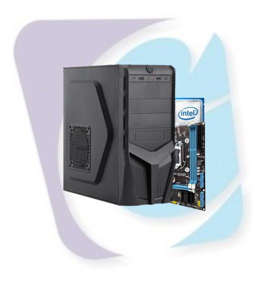 Cpu Intel Pentium G4560 3.5ghz Memória 4gb Ssd 120gb Com Nfe
