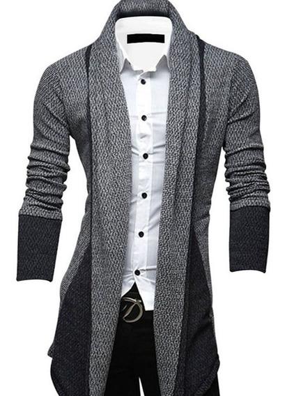 Suéteres De Caballero Largos Y Delgados Para Hombres