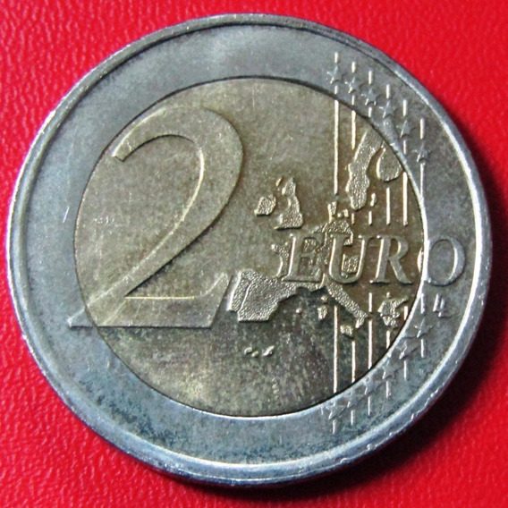 Luxemburgo Moneda Bimetalica 2 Euros 2002 Unc Km #82