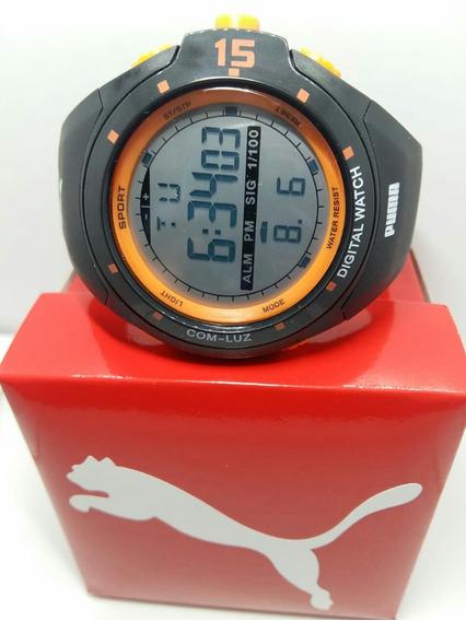 Reloj Puma Sumergible Digital P02 Con Luz. Envío Gratis!