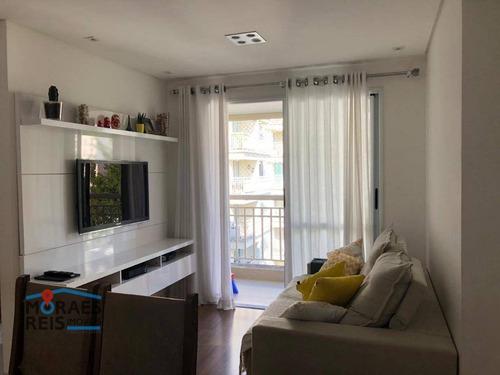 Apartamento À Venda, 72 M² Por R$ 489.000,00 - Morumbi - São Paulo/sp - Ap15960