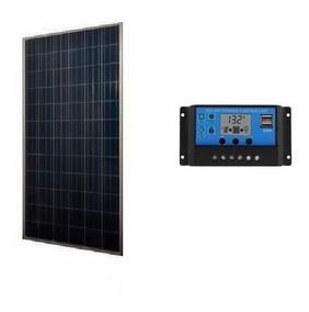Kit Sistema Aislado Panel Solar 100 Watts 12v + Envío Gratis