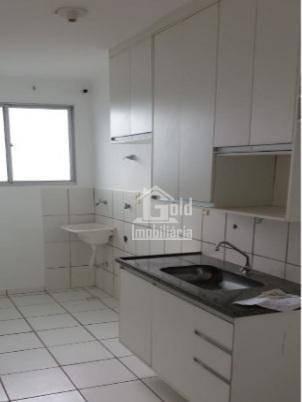 Apartamento Com 2 Dormitórios Para Alugar, 48 M² Por R$ 870,00/mês - Reserva Sul Condomínio Resort - Ribeirão Preto/sp - Ap3158