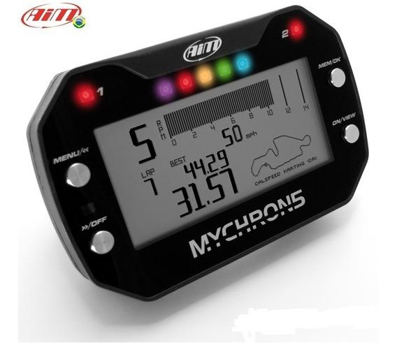 Mychron5 Aim Painel De Kart Telemetria Sem Sensor De Temp.