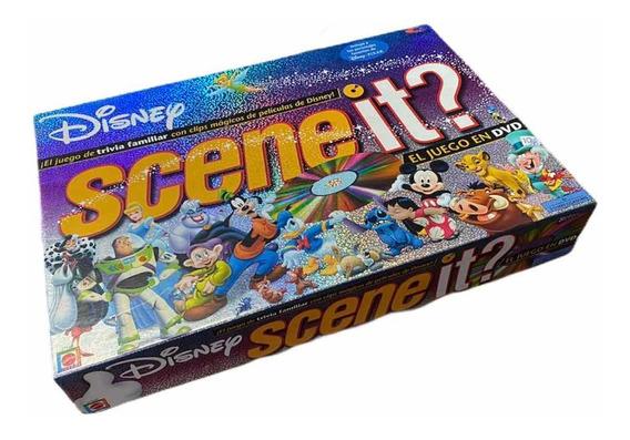 Scene It Disney Juego Trivia Familiar Dvd Completo + Regalo