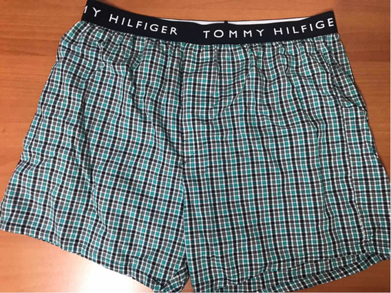 Woven Bóxer Mediano Hombre Shorts M Algodón Tommy Mediano 32