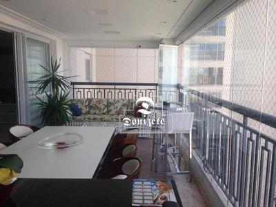 Apartamento Com 3 Dormitórios À Venda, 177 M² Por R$ 1.480.000 - Campestre - Santo André/sp - Ap10934