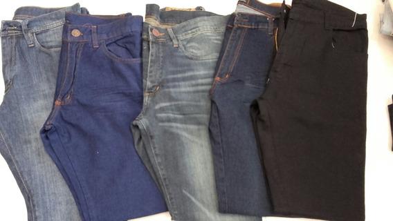 Jeans De Hombre Chupin Elatizados