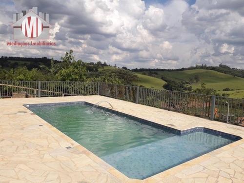Chácara Com 3 Dormitórios À Venda, 20500 M² Por R$ 800.000 - Zona Rural - Pinhalzinho/sp - Ch0383