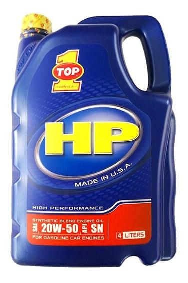 Aceite Top 1 Hp 20w50 Semi-sintético Galon