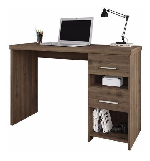 Escrivaninha Mesa Computador Carvalho(consulte Frete Grátis)