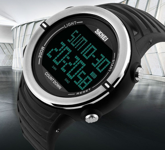 Relógio Skmei Digital Masculino Esportivo À Prova D