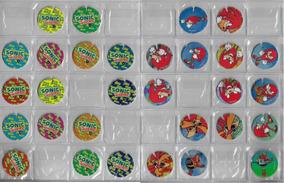 1995 Lote 10 Tazos Da Coleção Frog Mania Sonic The Hedgehog