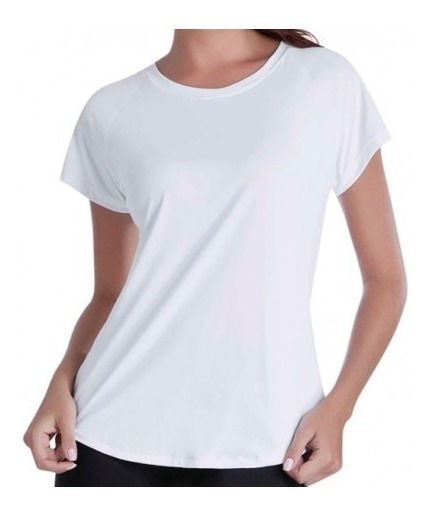 Kit 10 Babylook Para Sublimação 100% Poliester Camisetas X