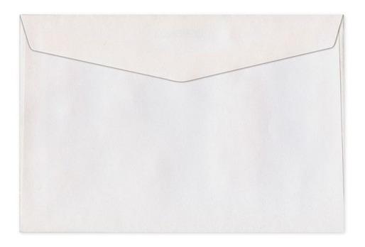 Sobres De Carta Comercial 11x16cm 70g Caja X500 Unidades
