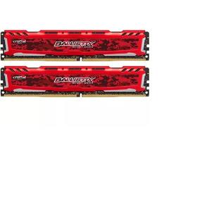 Memória Ballistix Sport Lt 16gb (2x 8gb) 2400mhz Ddr4 Red