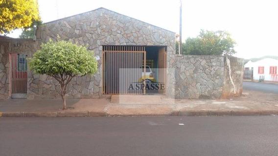 Casa Residencial À Venda, Alvorada, Sertãozinho. - Ca0134