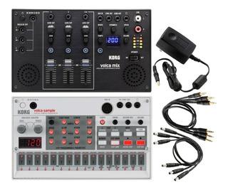 Oferta Combo Korg Volca Digital Sample Sequencer Y Volca Mix