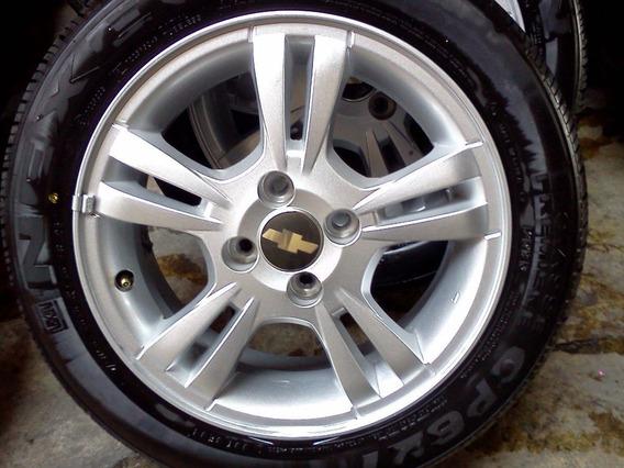Rin 15 Nuevo Original Silver Chevrolet Aveo Ltz 2009 - 2018