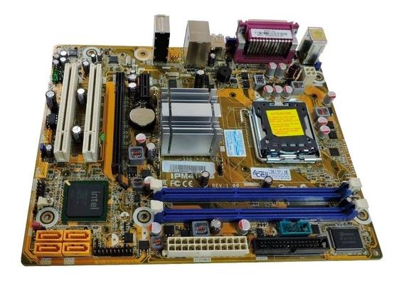 Kit 775 - Ipm41-d3 + 4gb Ddr3 + Processador Core 2 Duo E8400