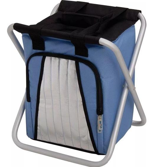 Ice Cooler Banqueta 25 Litros Azul 003630 Mor