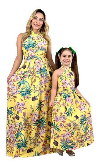 Vestido Tal Mãe Tal Filhas - 01 Adulto E 01 Infantil