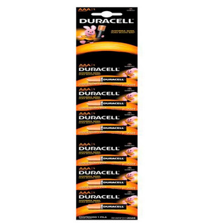 Pilas Duracell Alcalinas Aaa Pack 6 Unidades