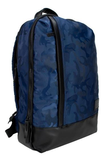 Mochila Unisex Marca Lee, En Color Azul