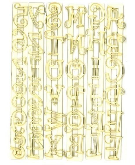 Cortante Letras Y Numeros Funyi Reposteria Deco Torta