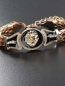Pulseira Folheada A Ouro Versace