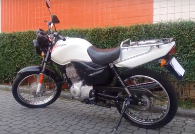 Honda Cg 125 Cargo Ks Branca