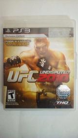 Jogo Game Ufc Undisputed 2010 Playstation 3 Seminovo