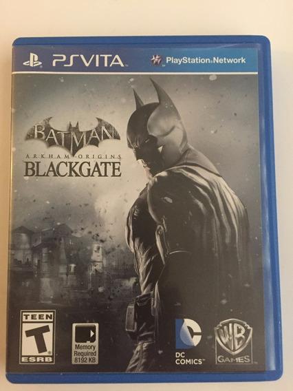 Jogo Psvita Batman Arkham Origins Blackgate Ps Vita