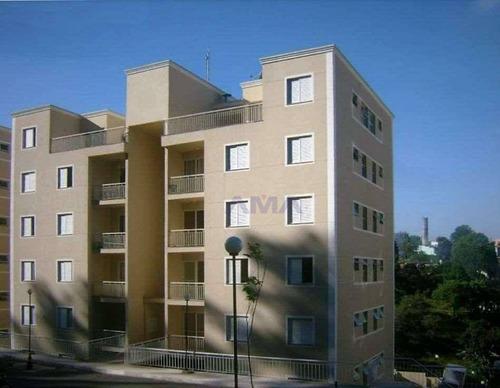 Imagem 1 de 16 de Apartamento Com 2 Dormitórios À Venda, 55 M² Por R$ 250.000,00 - Resort Da Granja - Cotia/sp - Ap0293
