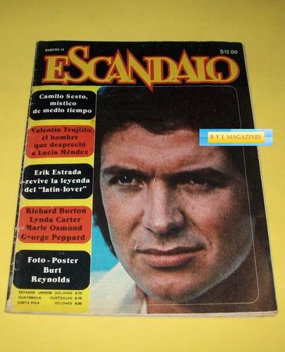 Camilo Sesto Valentin Trujillo Diana Brach Revista Escandalo