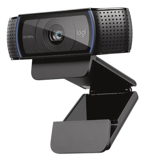 Webcam Logitech C920pro Autofoco Embutido Stream 1080p Hd