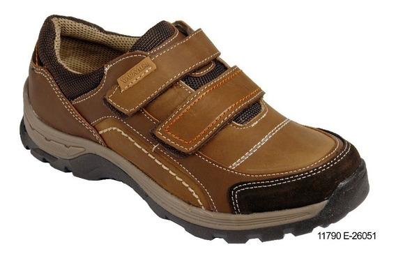 Yuyin Zapato Casual Para Joven Color Café Modelo 26051