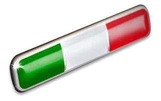 Insignia Bandera Italiana Fiat
