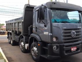 02 Volkswagen Vw 24280 Bitruck 8x2 Caçamba Truck Helio 13mt