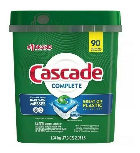Cascade Complete Detergente Lavavajillas, 90 Pods