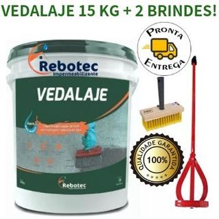 Vedalaje Rebotec 15 Kg + Kit P/ Aplicação Brinde -interlagos